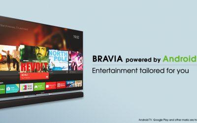 Sony brengt nieuwe Android TV 6 update uit