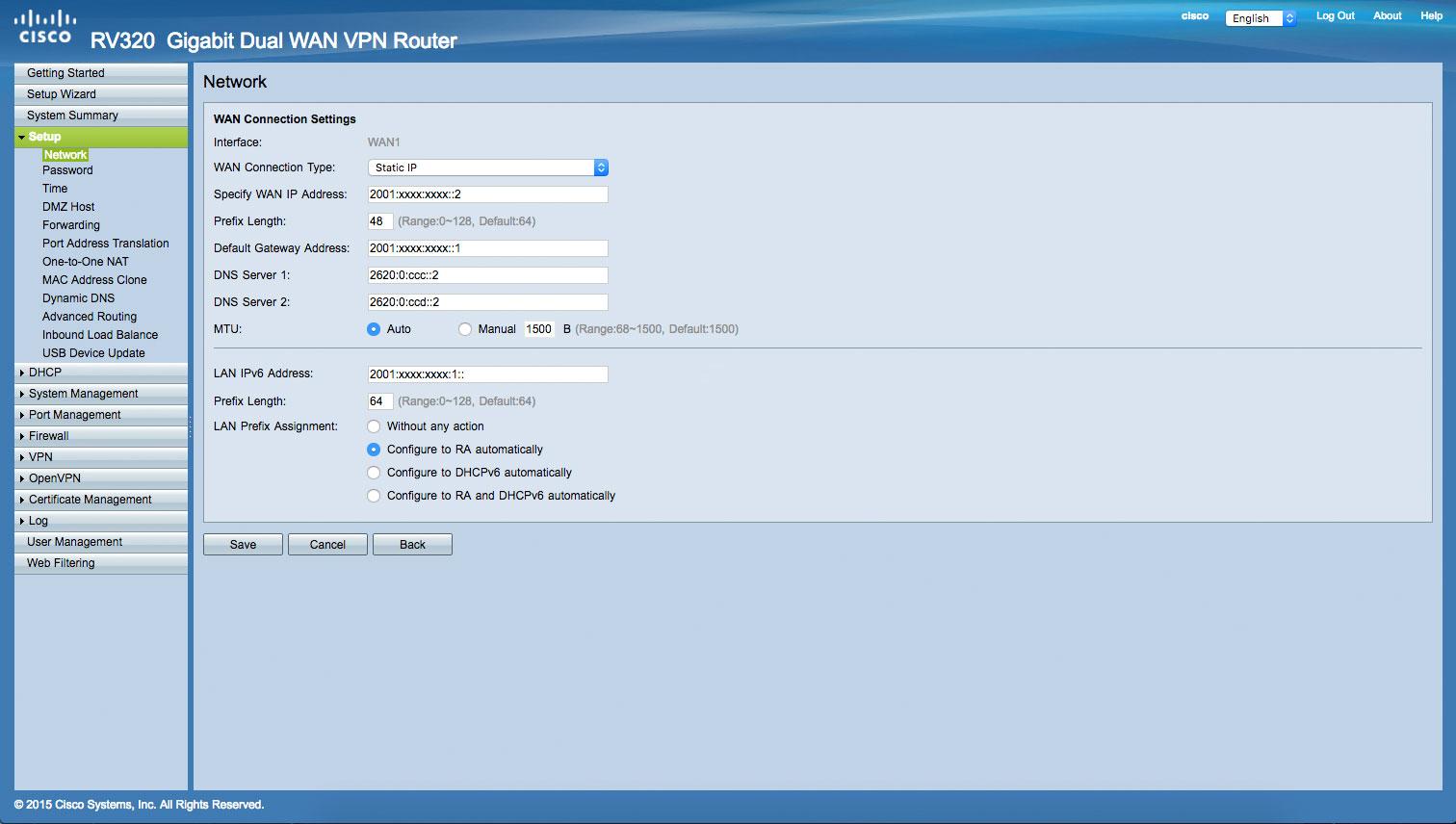 RV32x IPv6 2