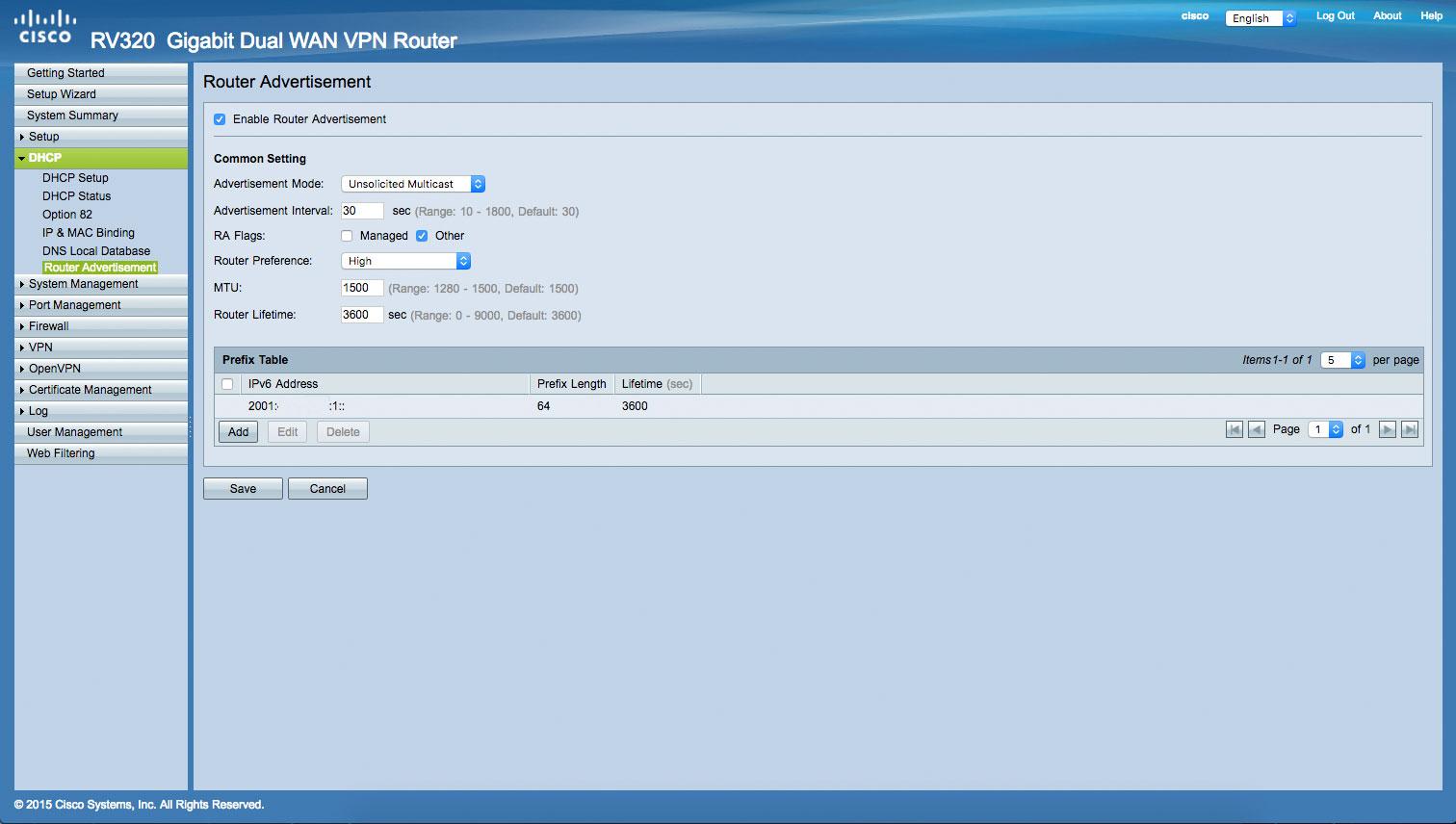 RV32x IPV6 3