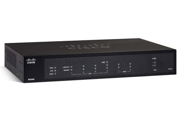 Cisco RV340/345 Routers gelanceerd
