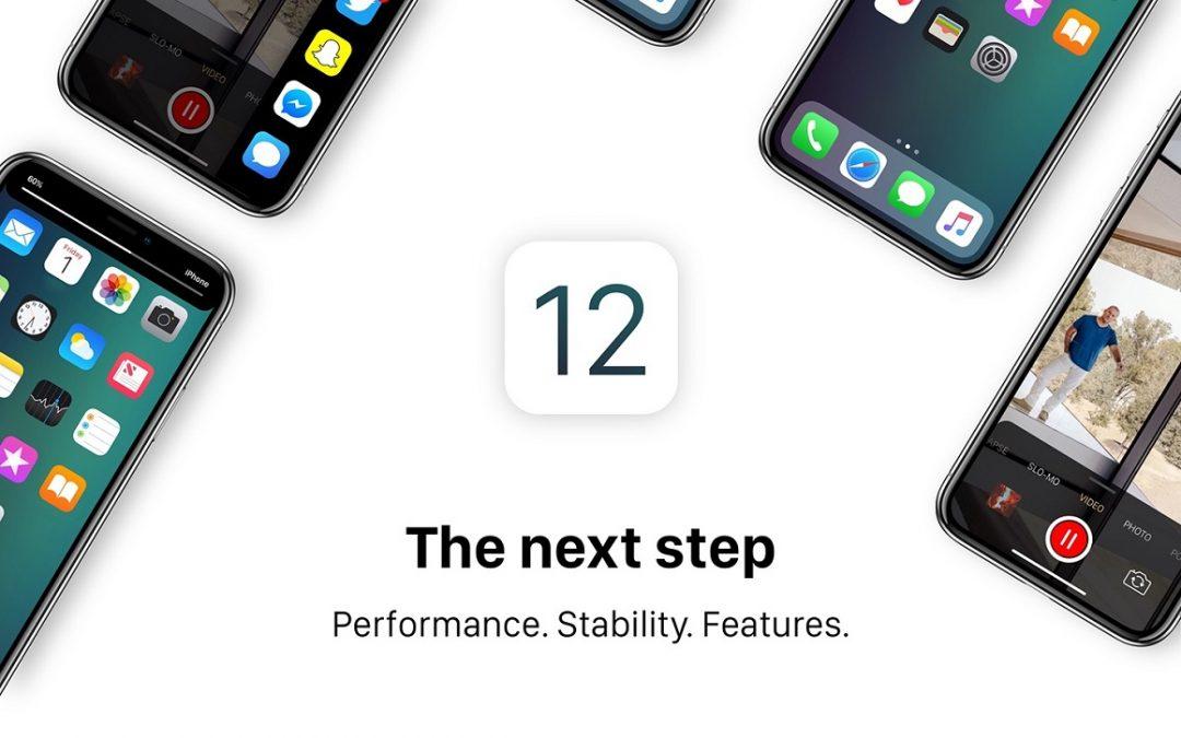 iOS 12 nu beschikbaar!