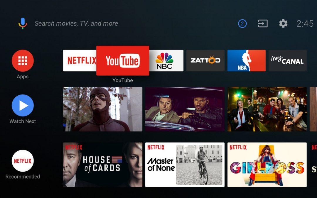 Sony komt met AndroidTV 8 voor Bravia TV's