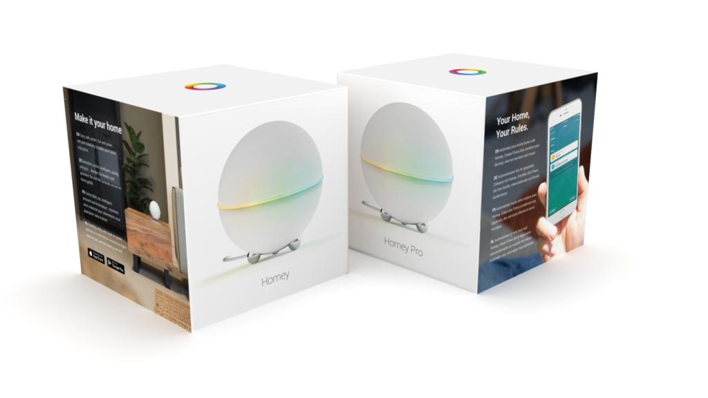 Homey v2.0 en Homey Pro nu beschikbaar