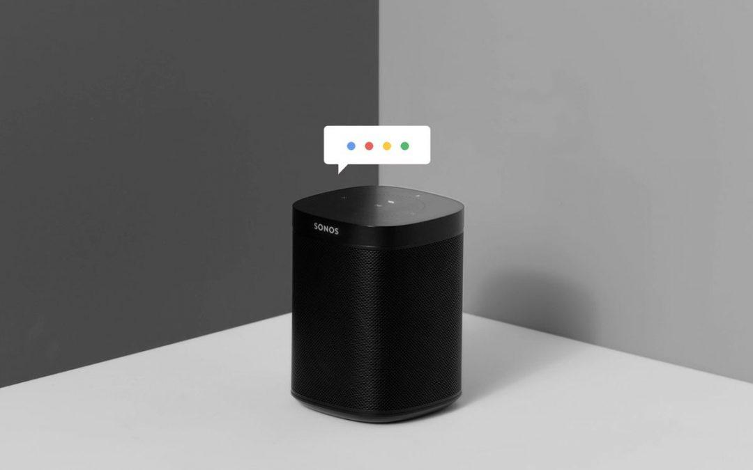Google Assistent onderweg naar Sonos