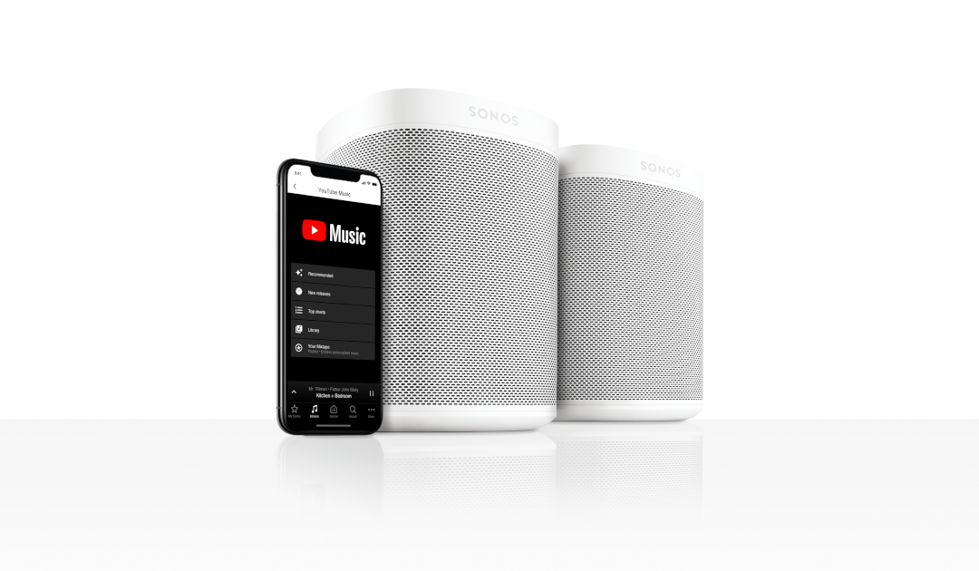 Sonos voegt YouTube Music ondersteuning toe