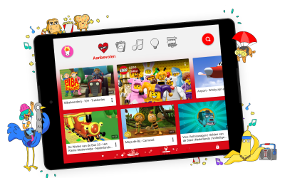 YouTube Kids nu beschikbaar in Nederland