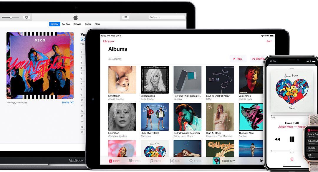 Apple Music via Vodafone 3 maanden gratis