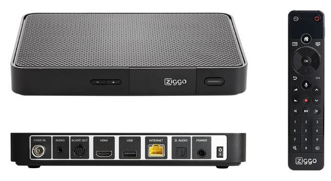 Ziggo introduceert mediabox NEXT
