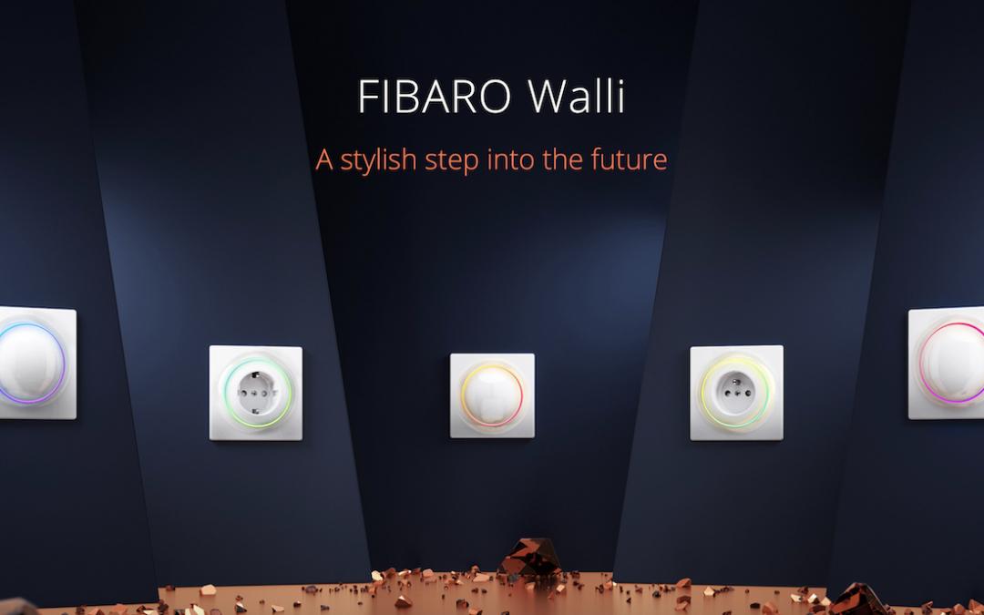 Fibaro Walli producten nu ook bij TechConnect
