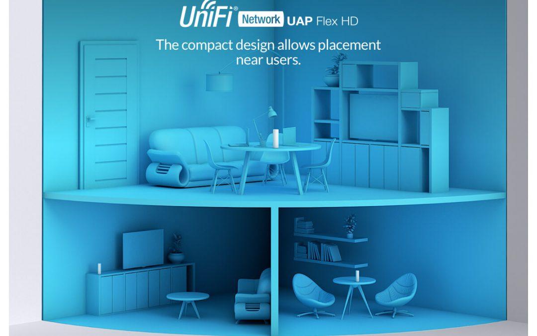 UniFi FlexHD WiFi punt nu leverbaar
