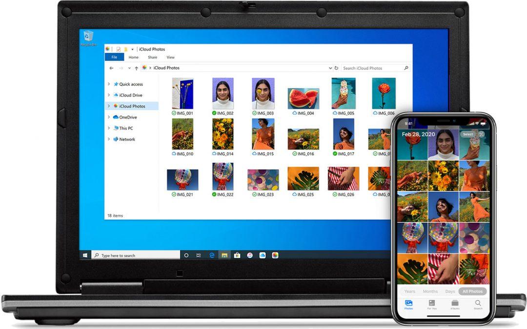 Windows en een iPhone samen gebruiken