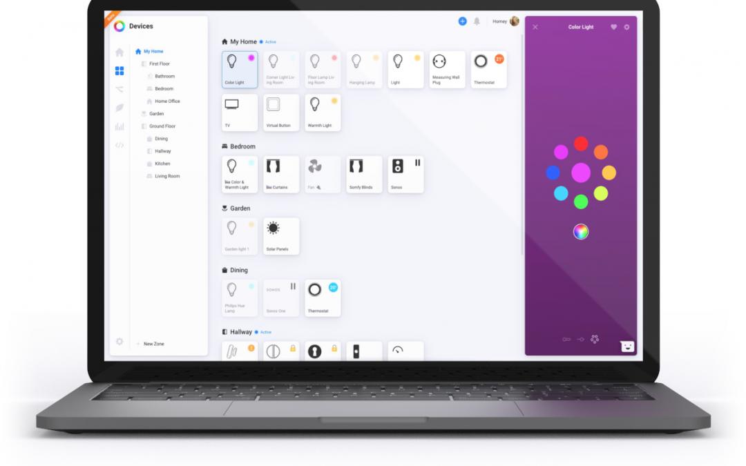 Athom lanceert Homey Web App