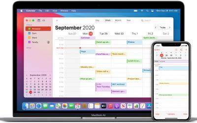GMail en Workspace agenda's selecteren voor zichtbaarheid