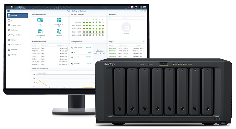 Synology NAS, Hybrid cloud en backups